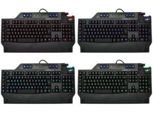 Lioncast LK15 Gaming Tastatur (LED, USB, n-Key-Rollover, 16 Millionen Farben)-02