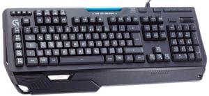 Logitech G910 Orion Spark mechanische Gaming-Tastatur QWERTZ schwarz-01