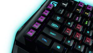 Logitech G910 Orion Spark mechanische Gaming-Tastatur QWERTZ schwarz-02
