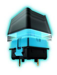 Logitech G910 Orion Spark mechanische Gaming-Tastatur QWERTZ schwarz-04