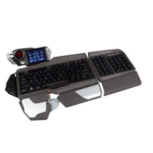 Mad Catz S.T.R.I.K.E. 7 Gaming Tastatur (Deutsch, Touchscreen, USB) Schwarz-01