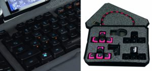 Mad Catz S.T.R.I.K.E. 7 Gaming Tastatur (Deutsch, Touchscreen, USB) Schwarz-03