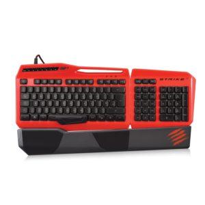 Mad Catz S.T.R.I.K.E.3 Gaming Tastatur-PC-Deutsch-Hintergrundbeleuchtung-USB-Rot-01