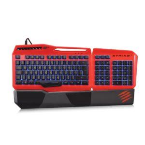 Mad Catz S.T.R.I.K.E.3 Gaming Tastatur-PC-Deutsch-Hintergrundbeleuchtung-USB-Rot-02