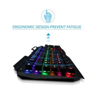VicTsing Mechanische Gaming Tastatur-ergonomisch-02