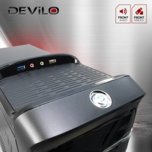 DEViLO PC-Set 1238-tastatur-test-anschlüsse-04